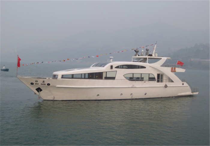 酷玩直播体育造船公司建造的牡丹号游艇2